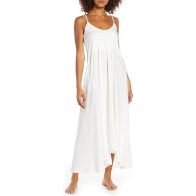 Groceries Apparel Ava Organic Cotton Nightgown, White