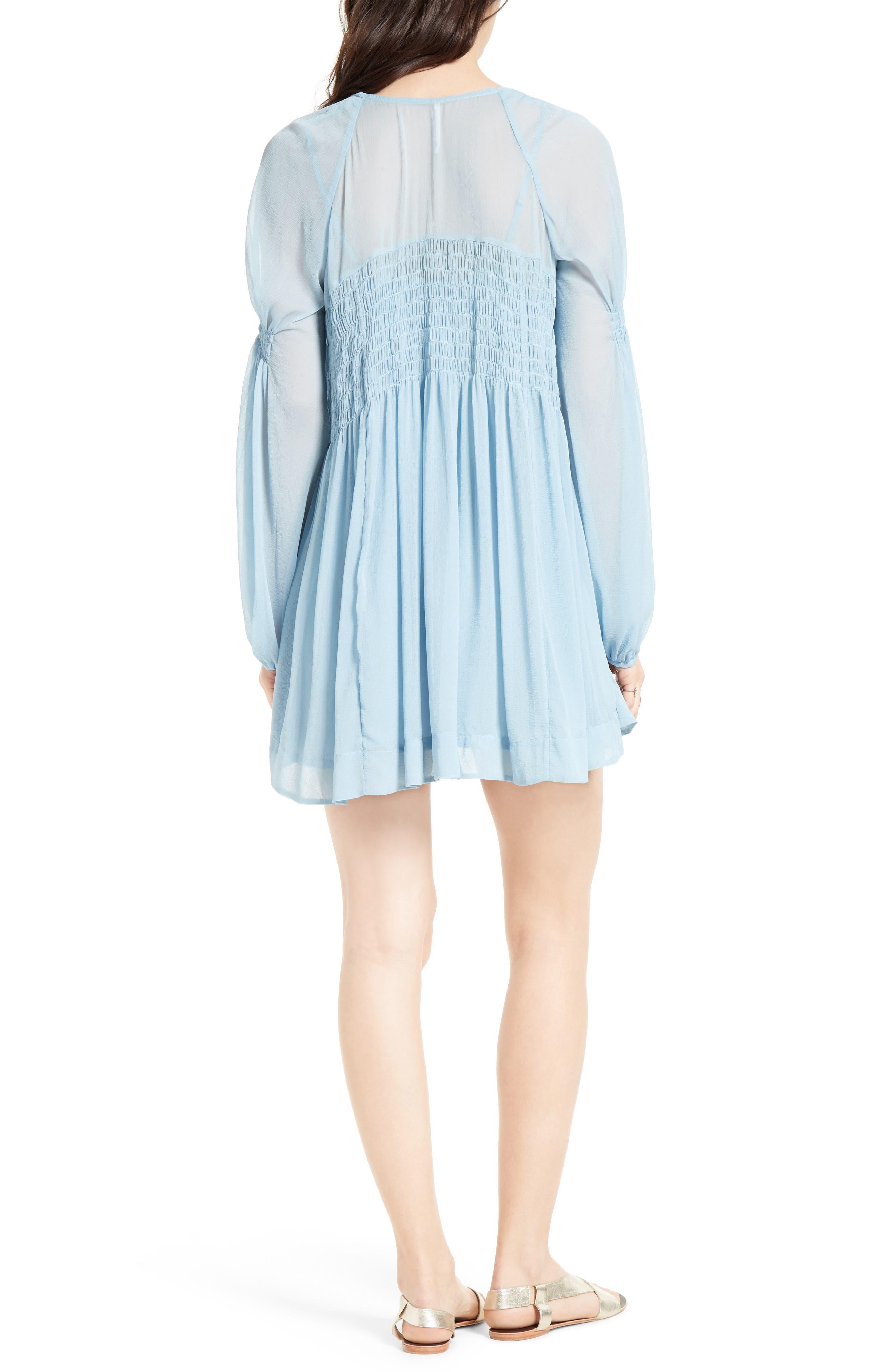 ,                             Lini Babydoll Dress,                             Alternate thumbnail 8, color,                             400