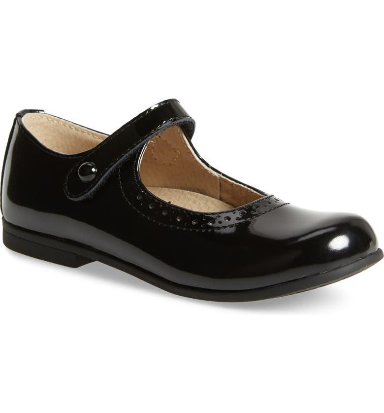 FOOTMATES Emma Mary Jane, Main, color, BLACK PATENT