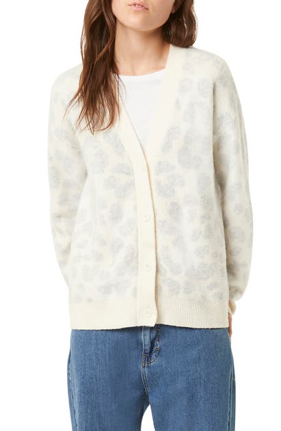 French Connection Tops LEOPARD CARDIGAN