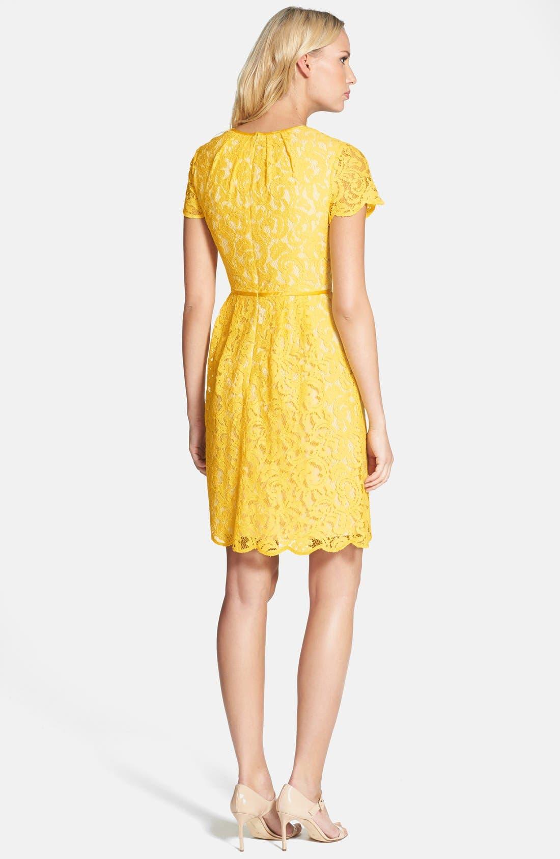 ,                             Scalloped Lace Dress,                             Alternate thumbnail 31, color,                             700
