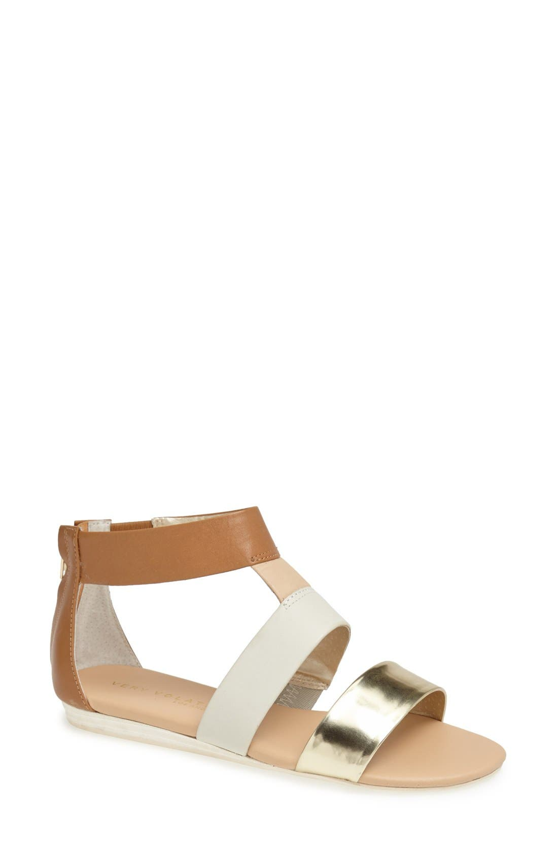 ,                             'Collective' Leather Sandal,                             Main thumbnail 5, color,                             230