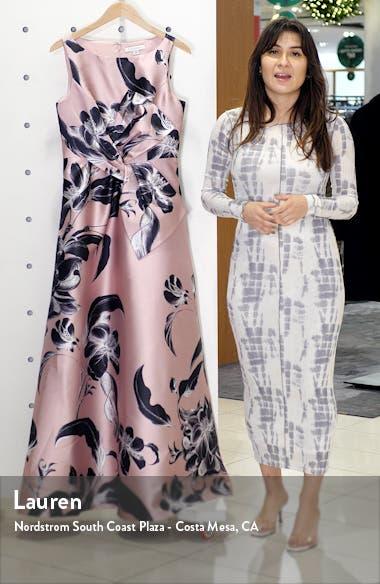 Grace Floral Twist Front Ballgown, sales video thumbnail