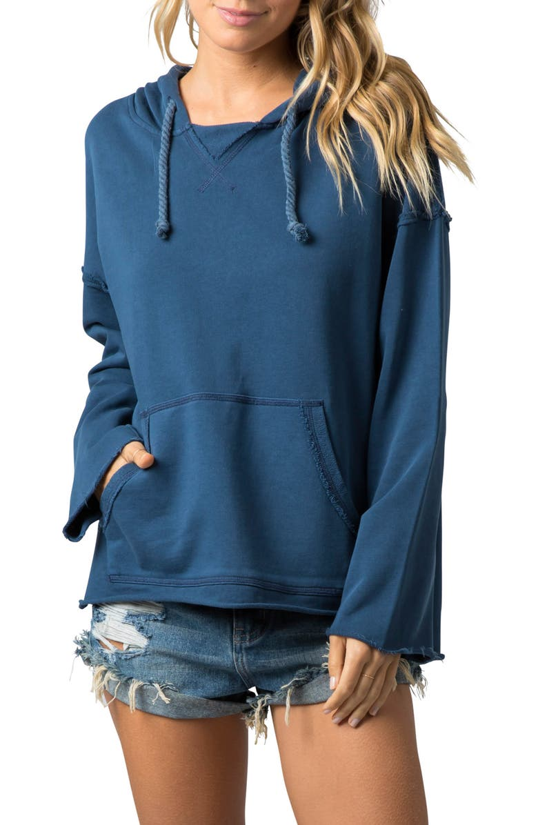RIP CURL Sun Chasers Hoodie, Main, color, NAVY
