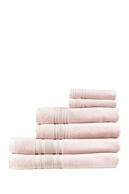 Image of Melange Home 100% Turkish Cotton 6-Piece Ensemble Set