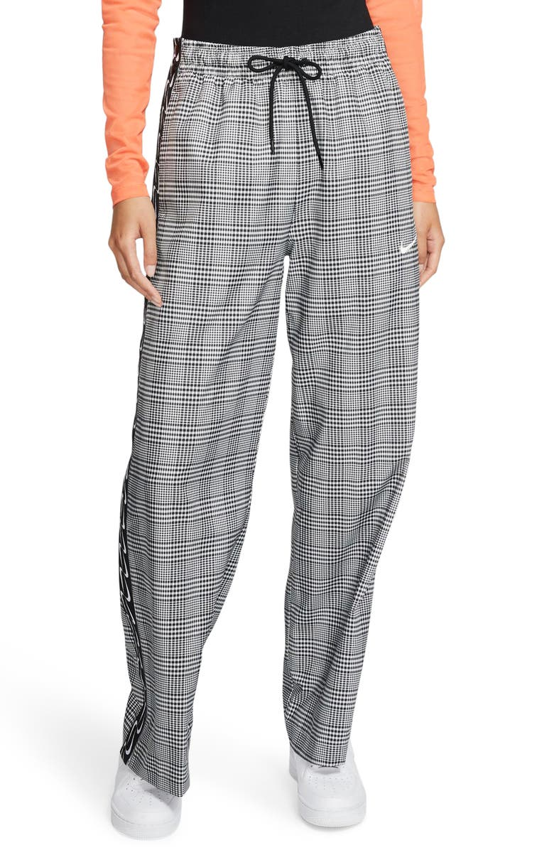 NIKE Tearaway Plaid Pants, Main, color, 010