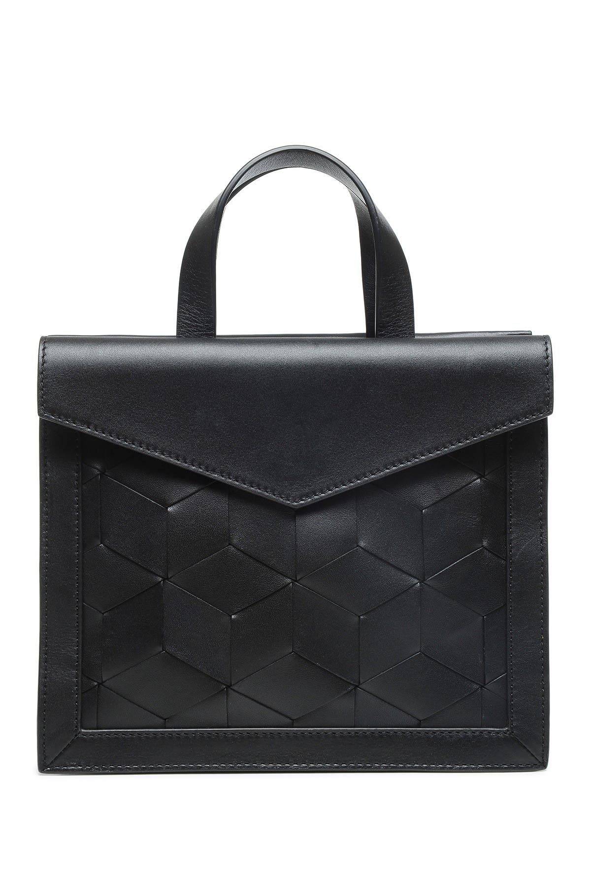 Image of Welden Bags Leather Voyager Small Flap Satchel