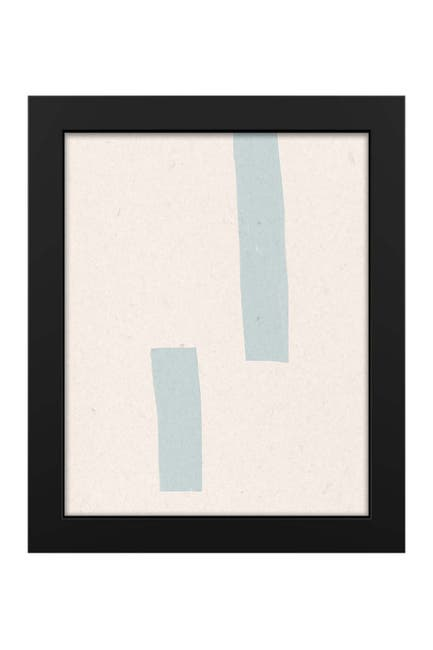 """Image of PTM Images Ice Strips 19""""x23"""" Framed MDF Canvas"""