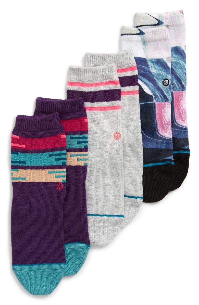 STANCE 3-Pack Cassini Socks, Main, color, 500