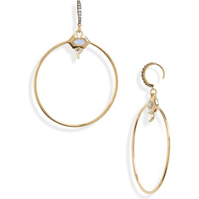 Nadri Venice Frontal Hoop Earrings