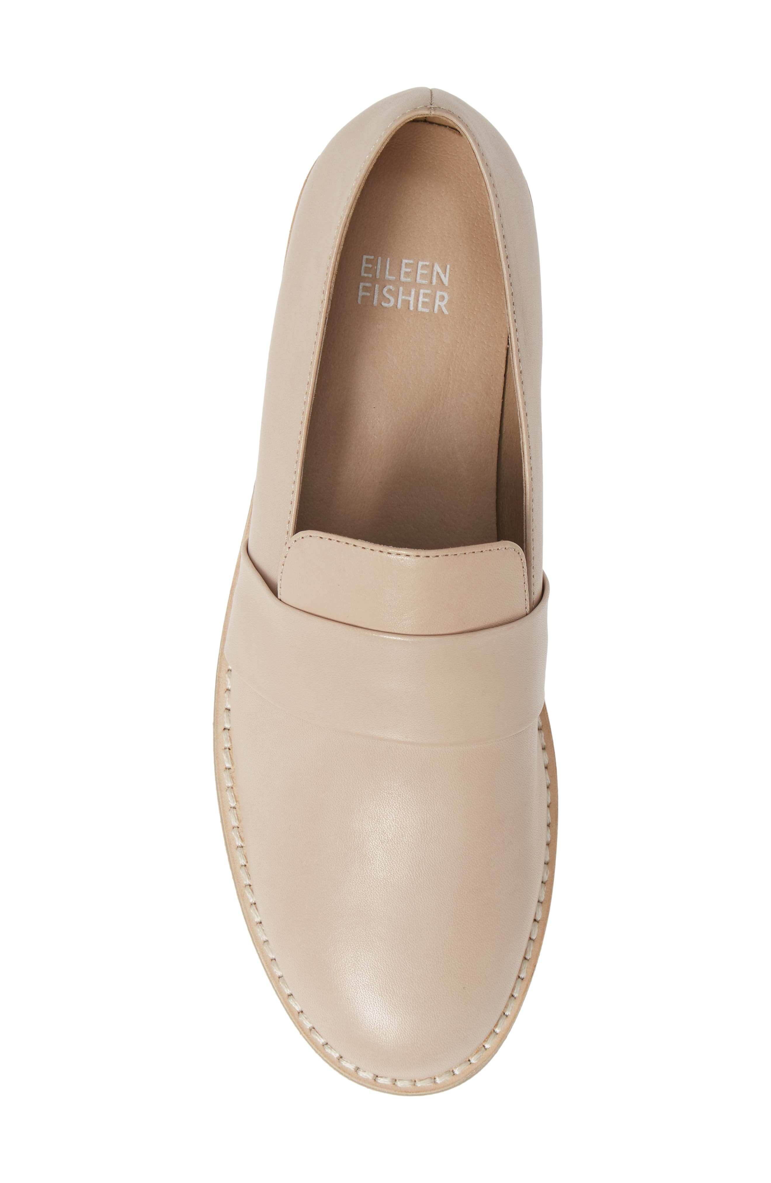 ,                             Hayes Loafer,                             Alternate thumbnail 5, color,                             NATURAL LEATHER