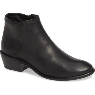 Frye Carson Piping Bootie- Black