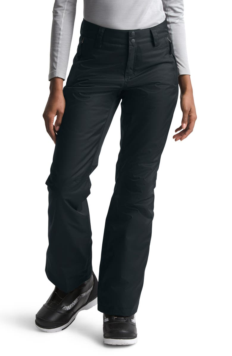 THE NORTH FACE Sally Insulated Snow Pants, Main, color, TNF BLACK