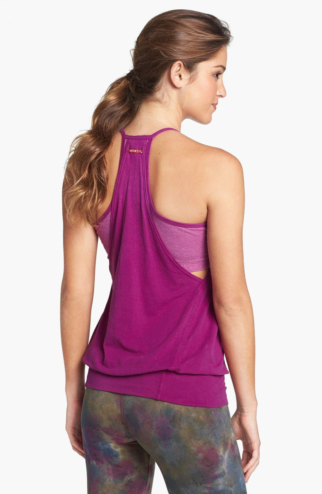 ,                             'Over Easy' Workout Tank,                             Alternate thumbnail 3, color,                             623