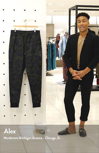 Sportswear Print French Terry Sweatpants, sales video thumbnail