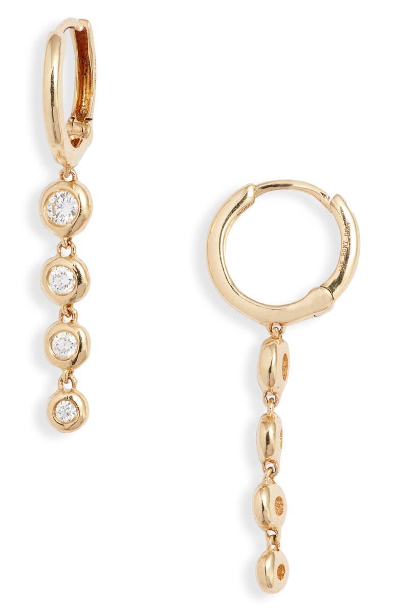 BONY LEVY Audrey Diamond Marquise Stud Earrings, Main, color, WHITE GOLD/ DIAMOND