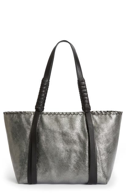 Allsaints MIKI EAST/WEST LEATHER TOTE