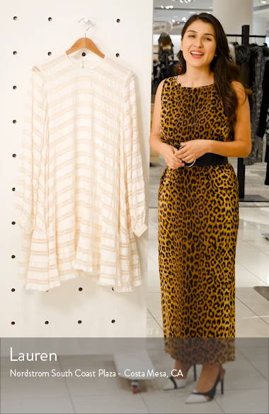 Viola Ladder Stitch Dress, sales video thumbnail