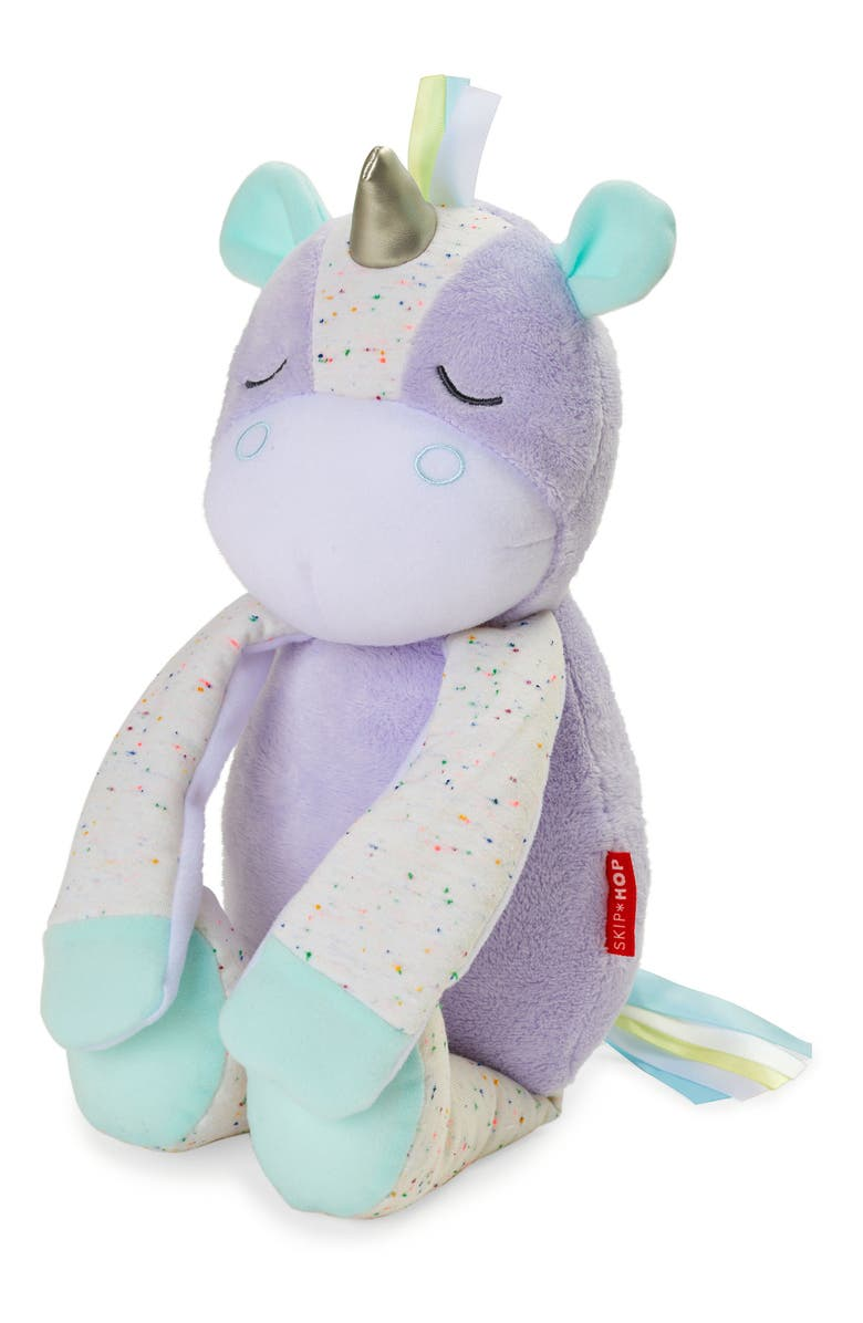 SKIP HOP Unicorn Cry-Activated Soother, Main, color, MULTI