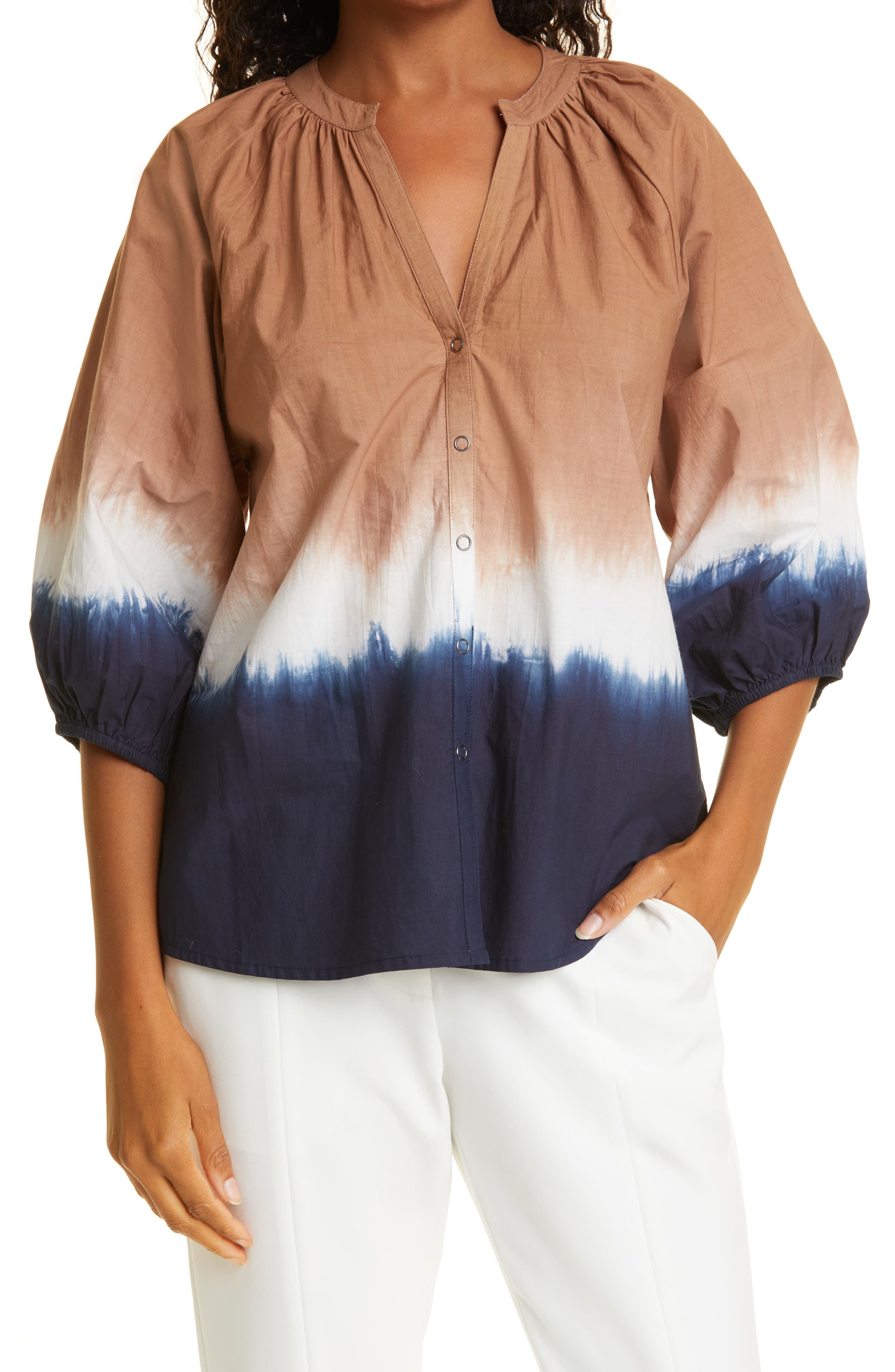 Mitte Tie Dye Organic Cotton Top