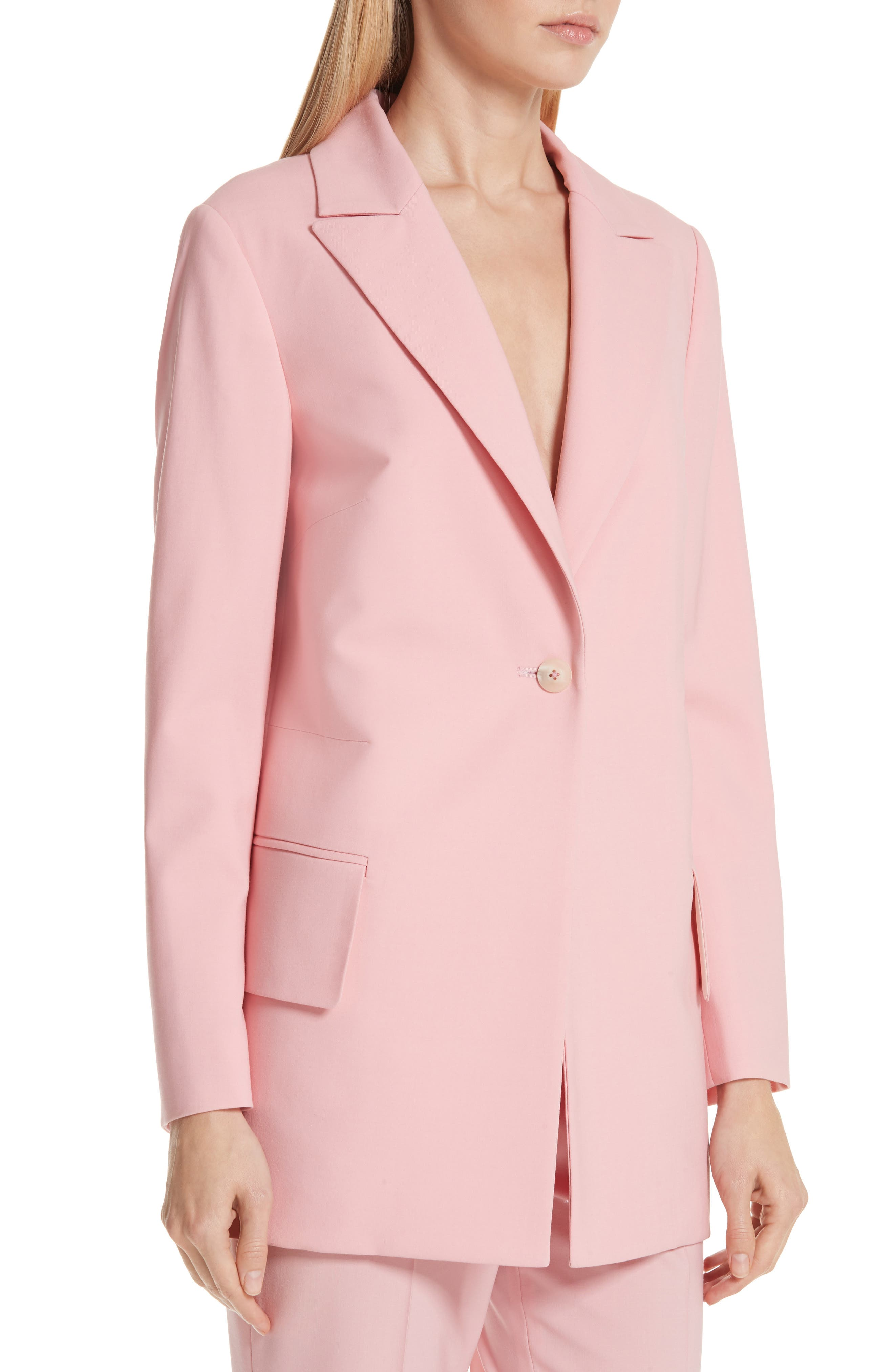 ,                             Brody Stretch Wool Jacket,                             Alternate thumbnail 4, color,                             ROSE