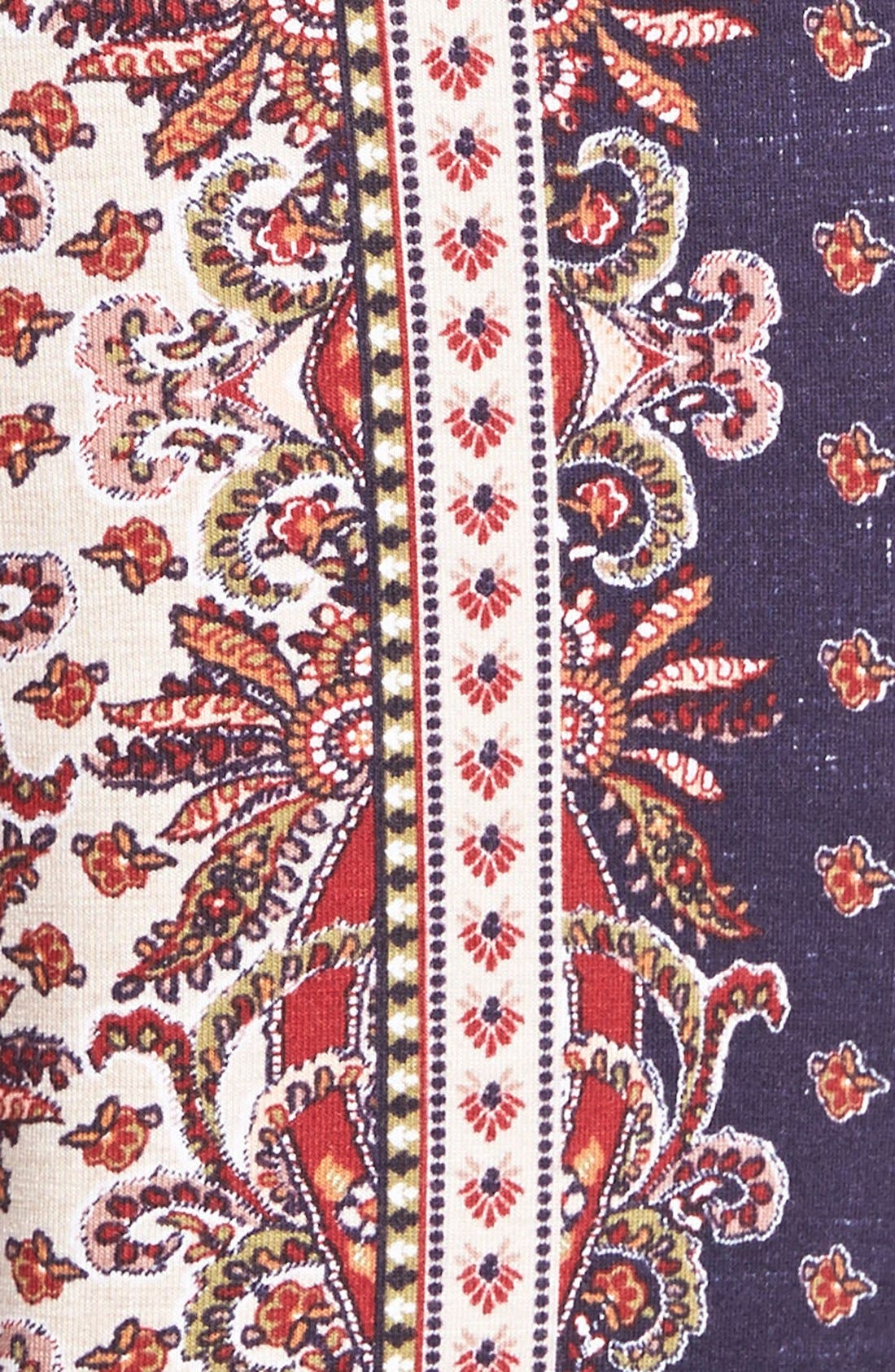 ,                             Mixed Print Flare Leg Pants,                             Alternate thumbnail 81, color,                             403