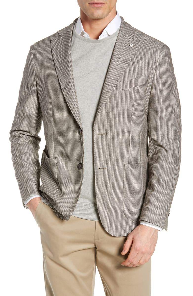 L.B.M. 1911 Trim Fit Solid Cotton Sport Coat, Main, color, 250