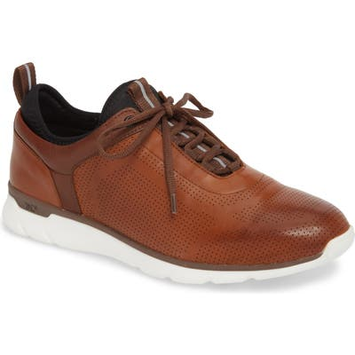 Johnston & Murphy Prentiss Xc4 Waterproof Sneaker, Brown