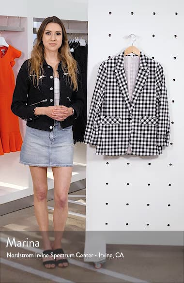 Gingham Blazer, sales video thumbnail