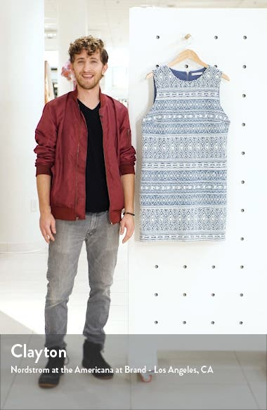 Coley Embroidery Sleeveless Sheath Dress, sales video thumbnail