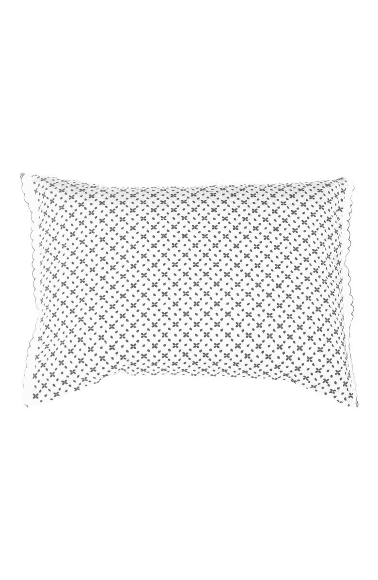 VERA WANG 'Shibori' Diamond Embroidered Eyelet Pillow, Main, color, 400