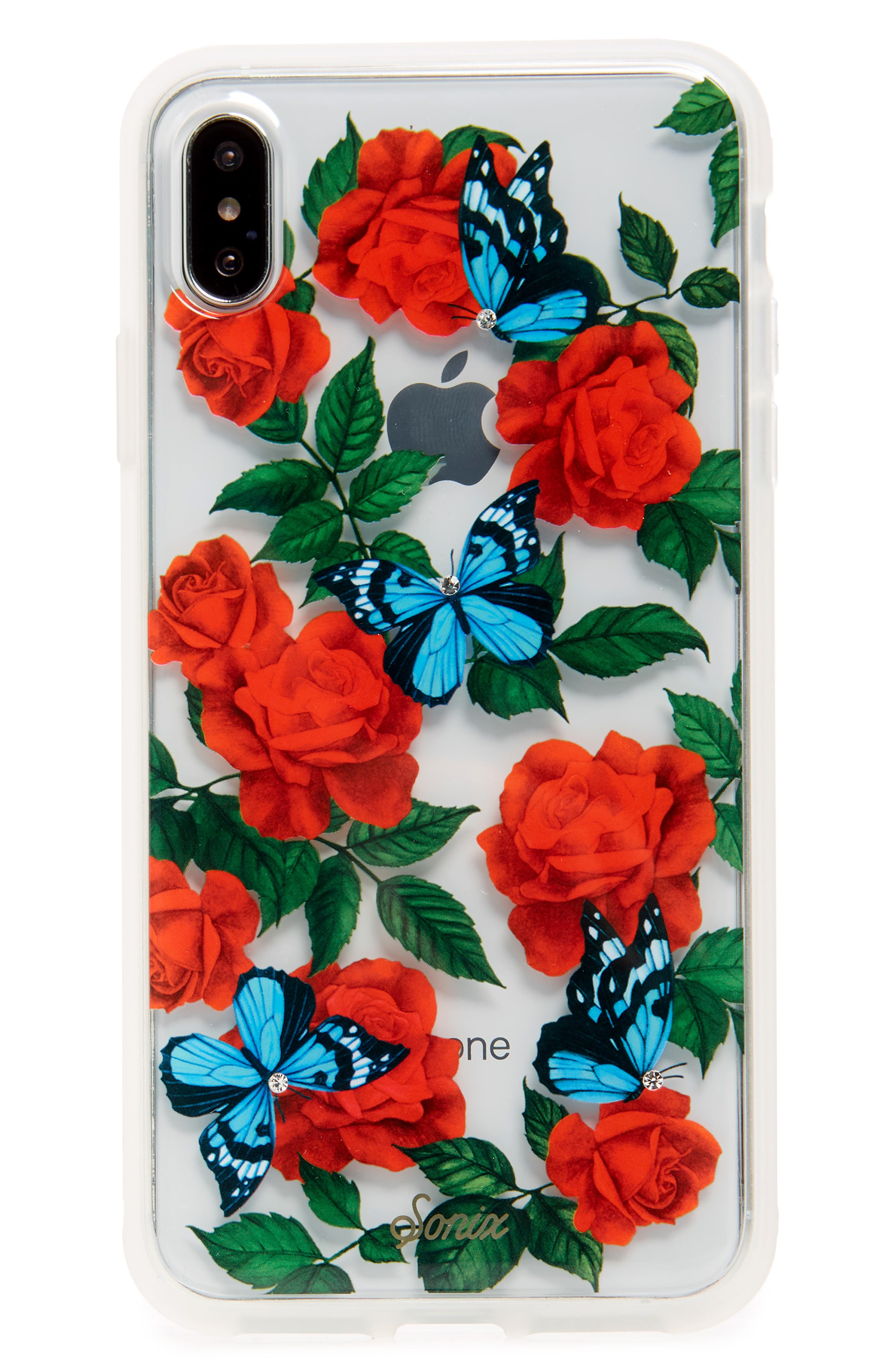 Image of SONIX Butterfly Garden iPhone X Case