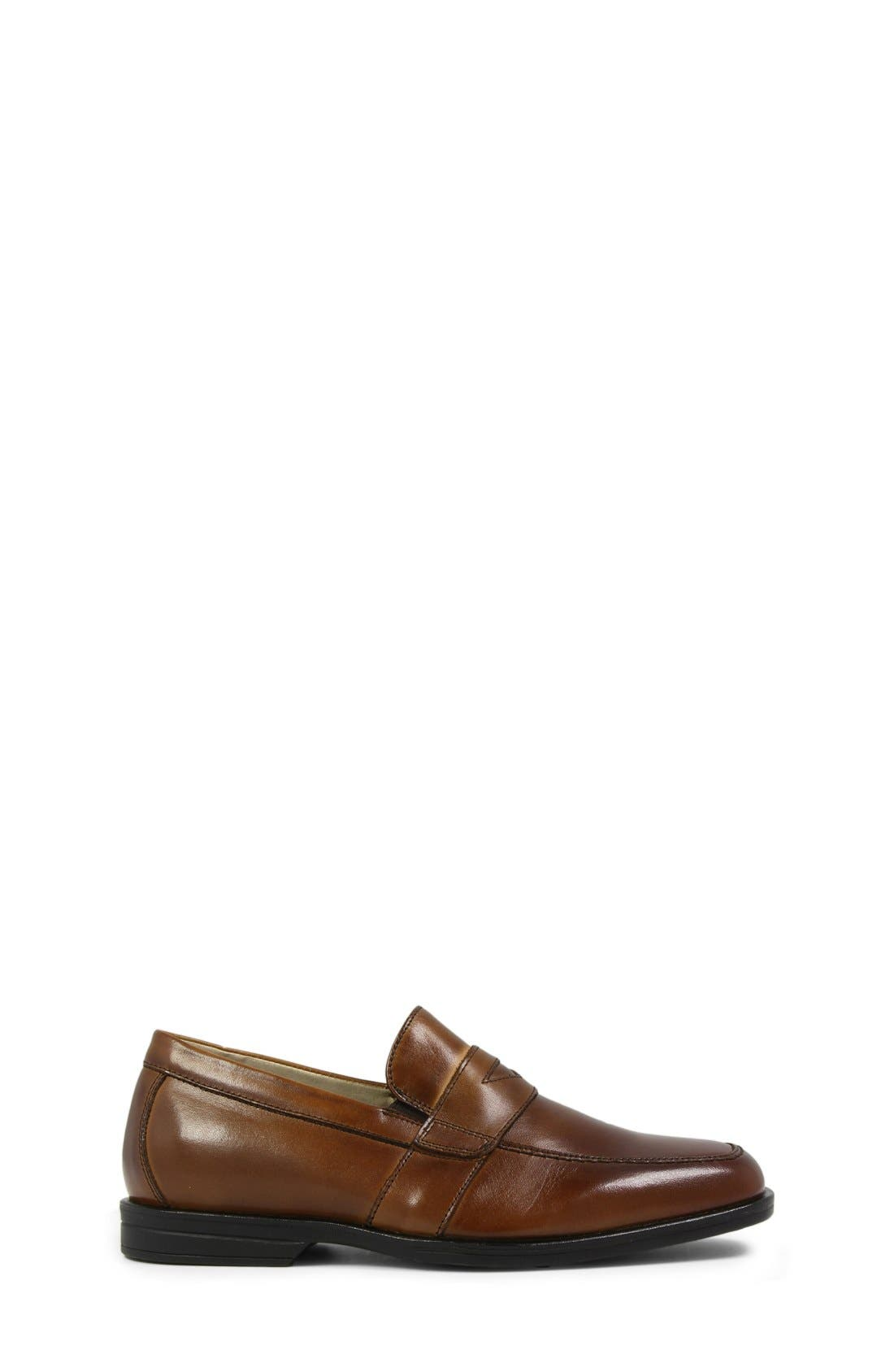 ,                             'Reveal' Penny Loafer,                             Alternate thumbnail 6, color,                             COGNAC LEATHER