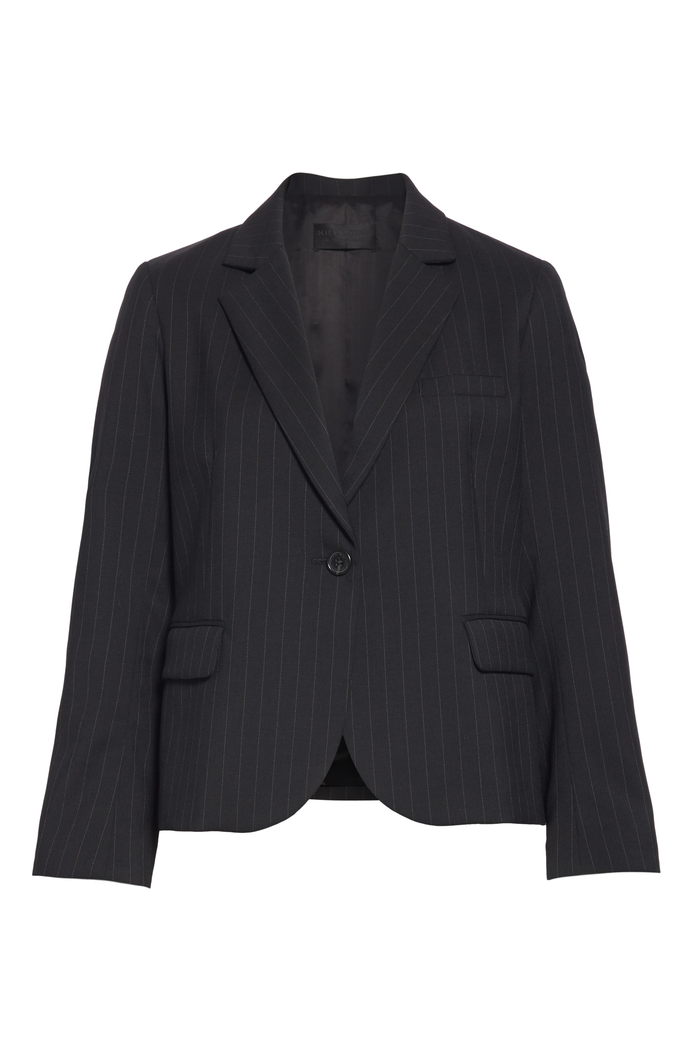 Nili Lotan Coats Julietta Pinstripe Jacket