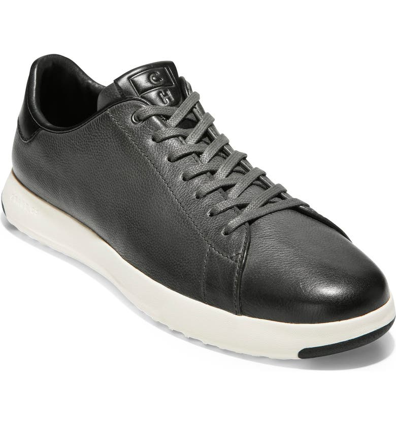COLE HAAN GrandPro Low Top Sneaker, Main, color, BURNISHED PAVEMENT LEATHER