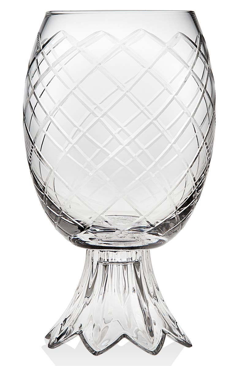 GODINGER Pineapple Glass, Main, color, CLEAR