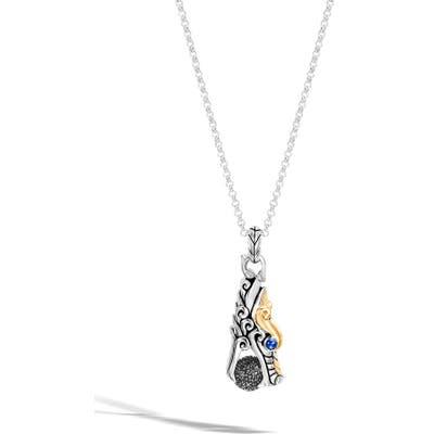 John Hardy Legends Naga Dragon Head Pendant Necklace
