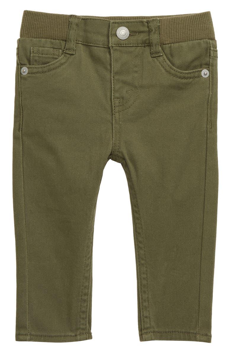 LEVI'S<SUP>®</SUP> Skinny Twill Pants, Main, color, KALAMATA