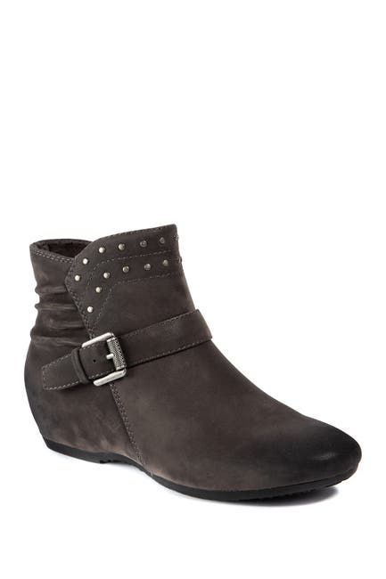 Image of BareTraps Peri Faux Shearling Lined Concealed Wedge Bootie