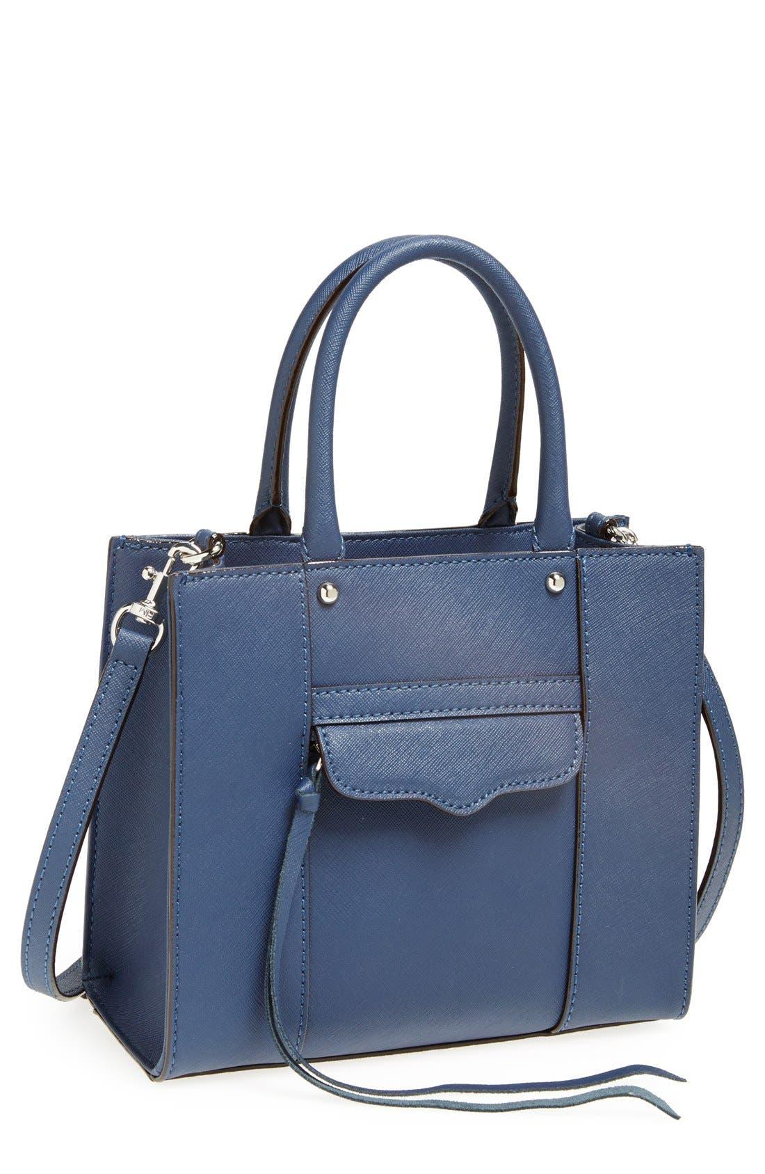 ,                             'Mini MAB Tote' Crossbody Bag,                             Main thumbnail 65, color,                             420