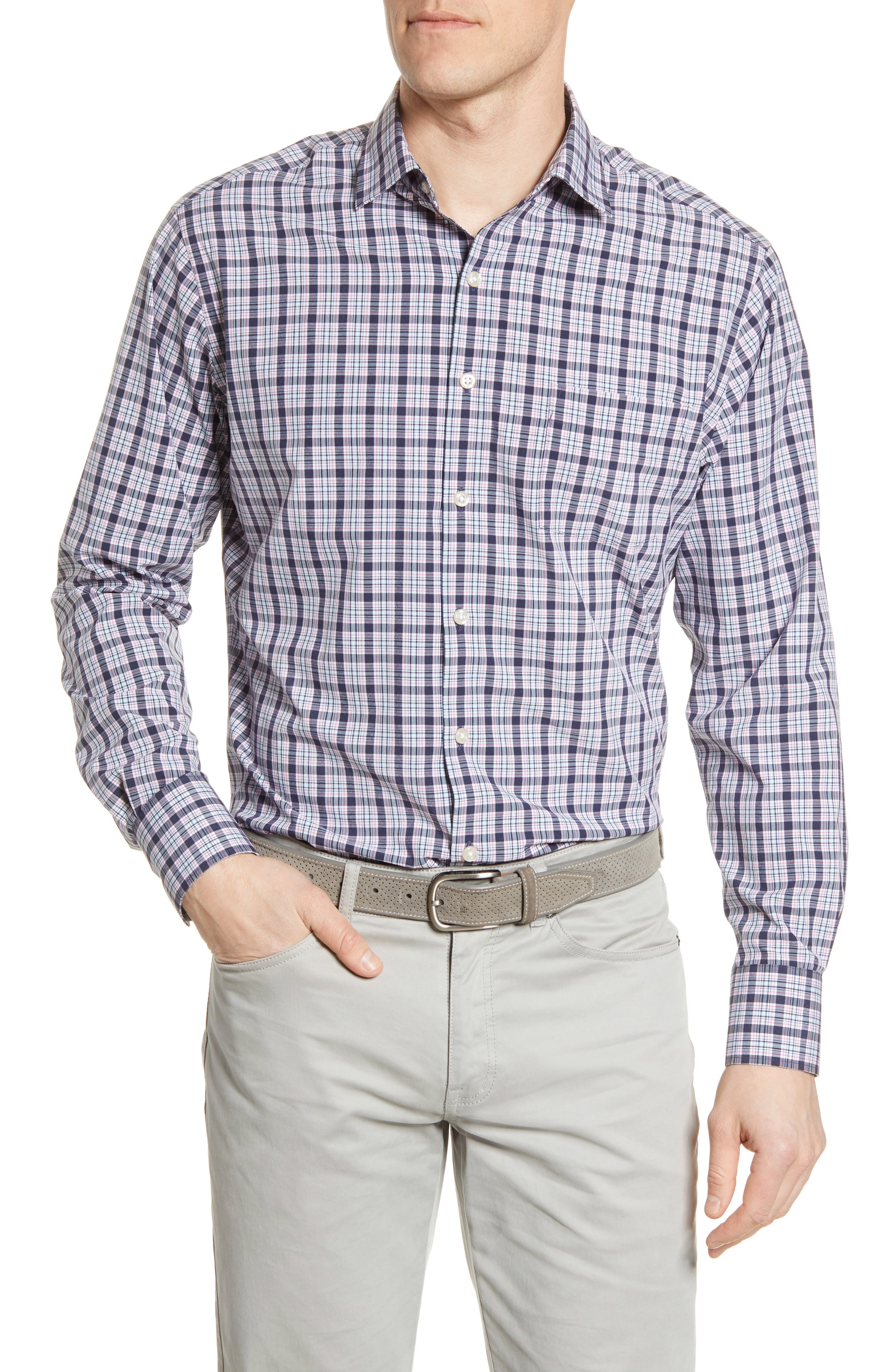 Image of Peter Millar Natural Touch Woven Shirt