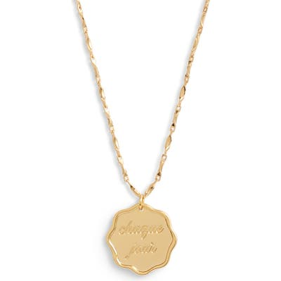 Jonesy Wood Chaque Jour Every Day Pendant Necklace