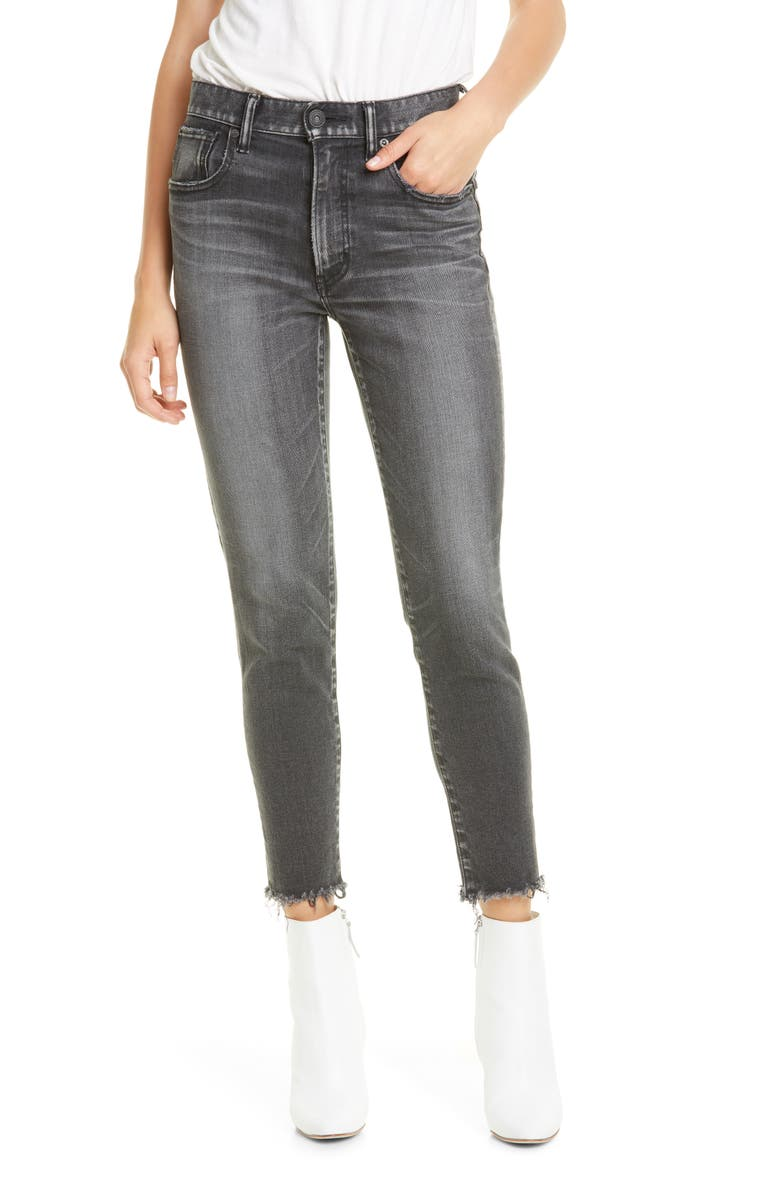 MOUSSY VINTAGE Westcliffe High Waist Skinny Jeans, Main, color, LIGHT BLACK