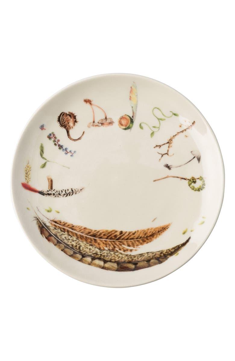 JULISKA Forest Walk Set of 4 Tidbit Plates, Main, color, CAFE AU LAIT