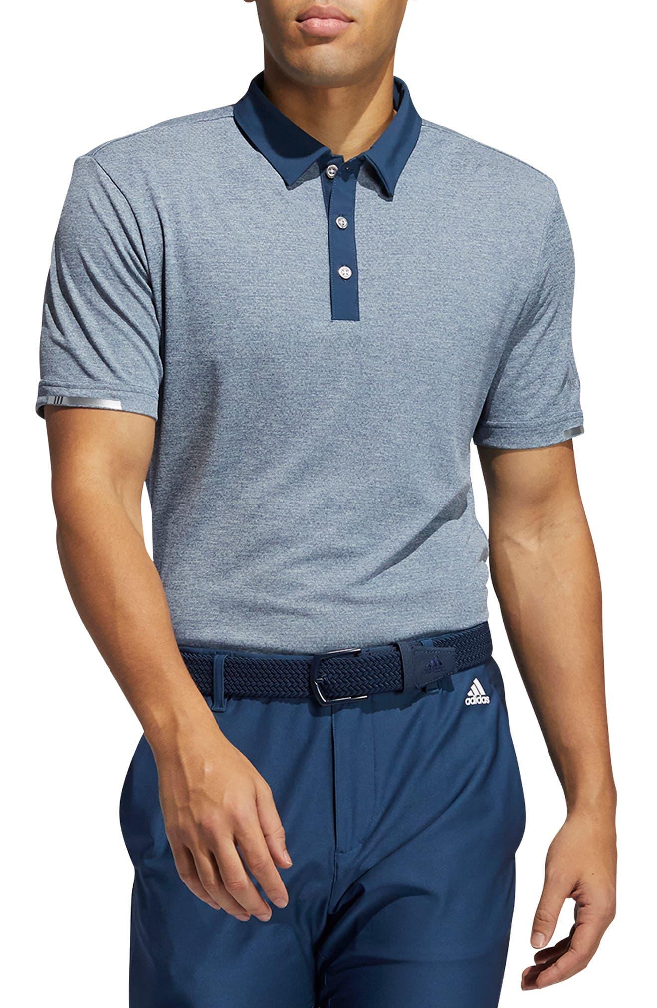 Men's Adidas Golf Men's Heat. rdy Heather Polo