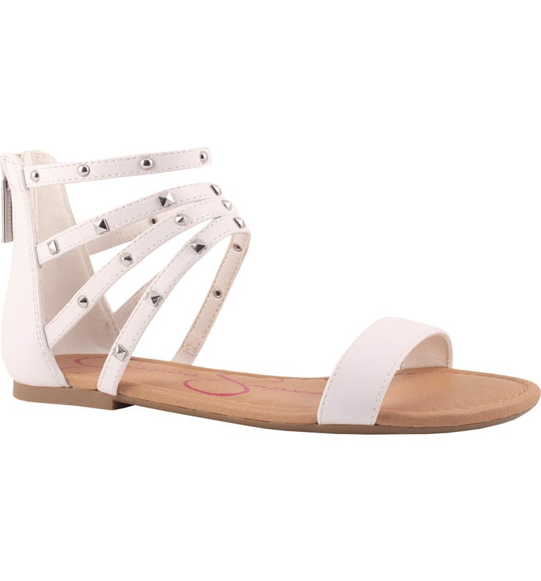 JESSICA SIMPSON Spring Sandal, Main, color, WHITE