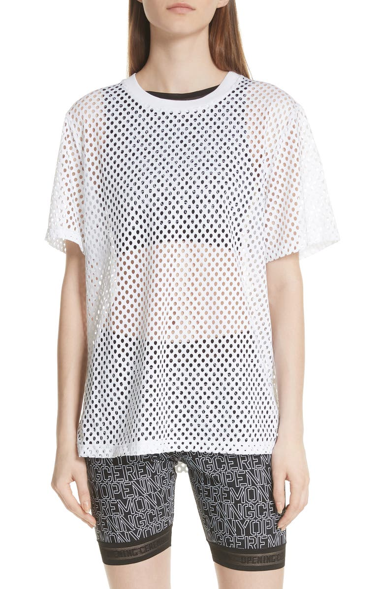 OPENING CEREMONY Mesh Tee, Main, color, 111