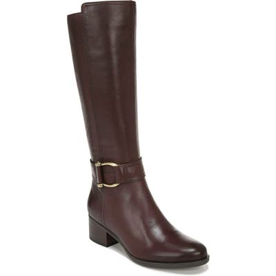Naturalizer Daelynn Tall Boot, Regular Calf W - Brown