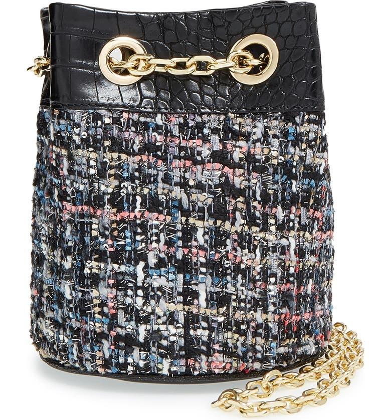 SAM EDELMAN 'Sabina' Bucket Bag, Main, color, 001