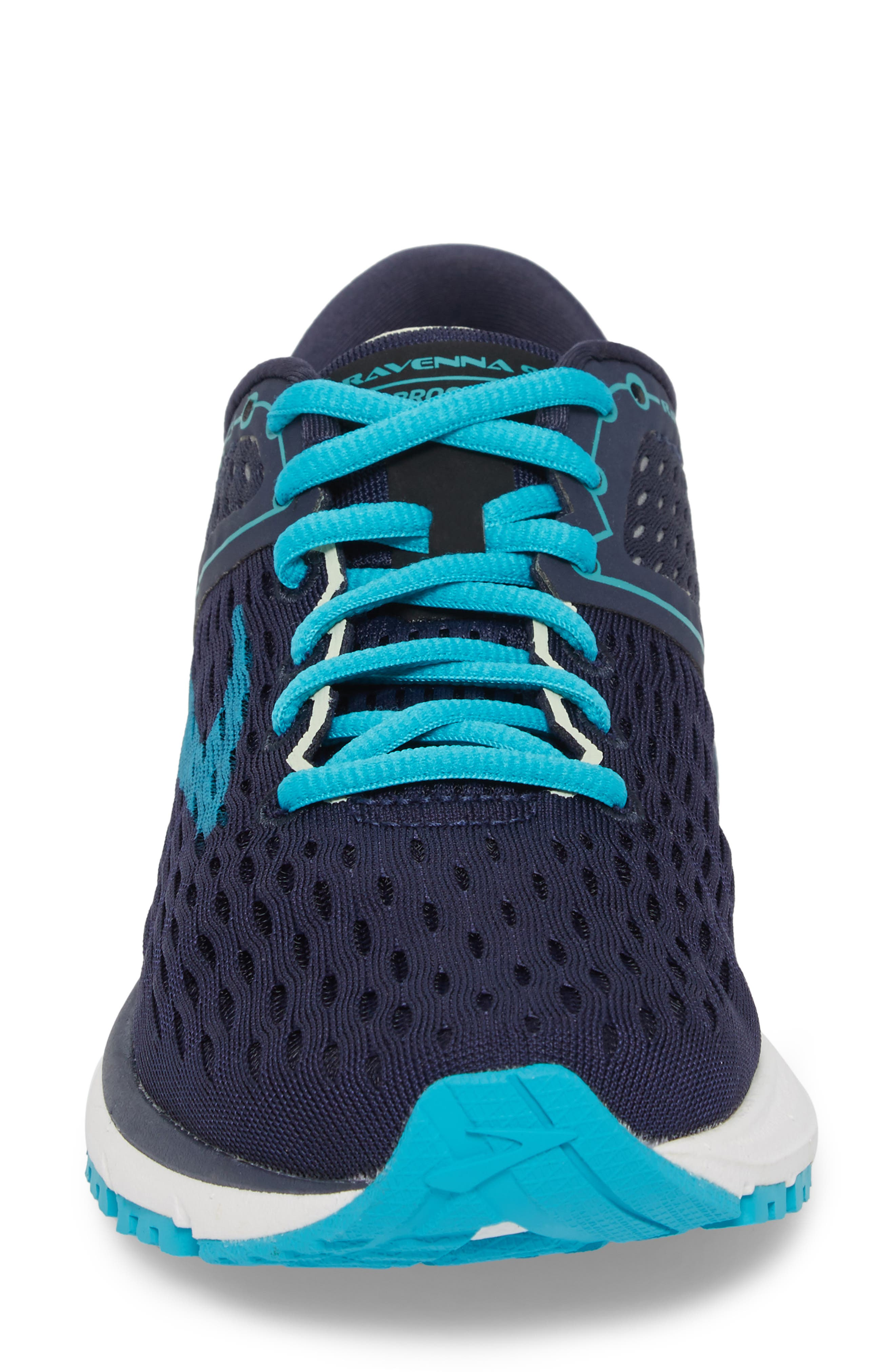 ,                             Ravenna 9 Running Shoe,                             Alternate thumbnail 4, color,                             NAVY/ BLUE/ GREEN
